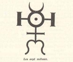 Coutela - Sept métaux