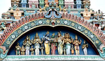 Rite d'ouverture à Shiva