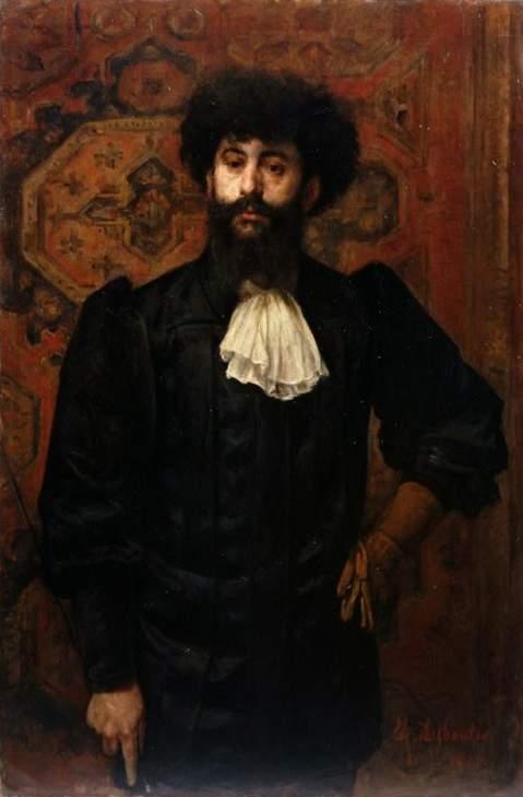 Portrait du Sâr Mérodack Joséphin Péladan, Marcellin Desboutin, 1891.