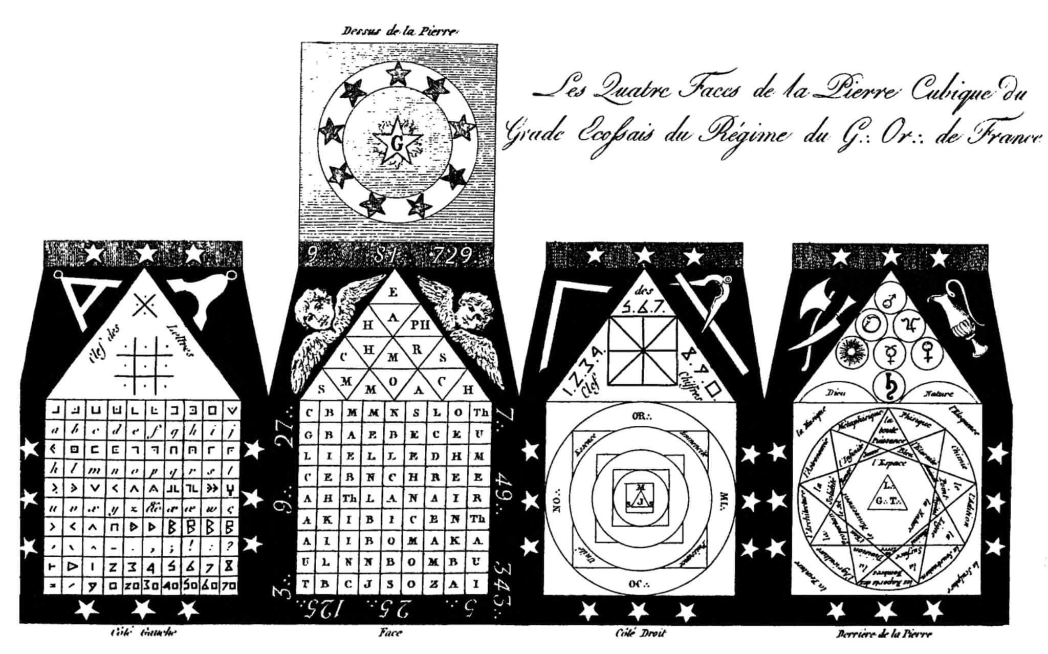 explication de la pierre cubique Chéreau - pierre cubique