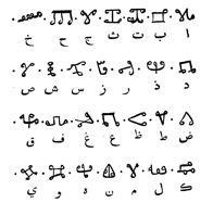 Alphabet boulé