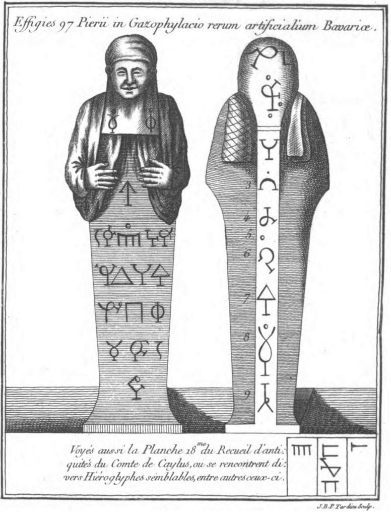 Poinsinet de Sivry, dans ses Nouvelles recherches sur la science des médailles, inscriptions et hiéroglyphes antiques