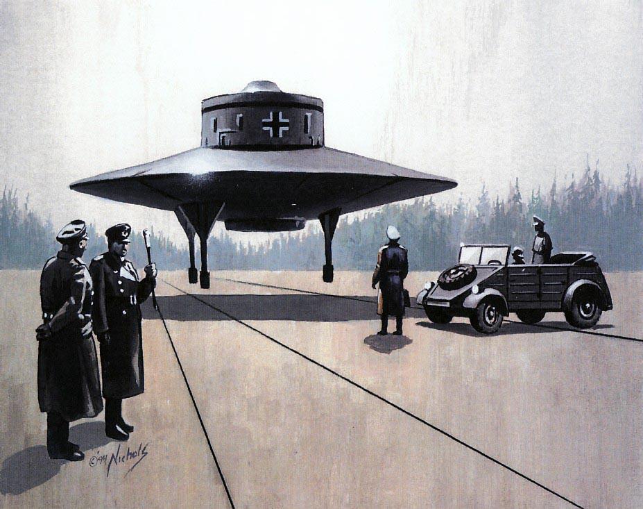 Les soucoupes volantes nazies