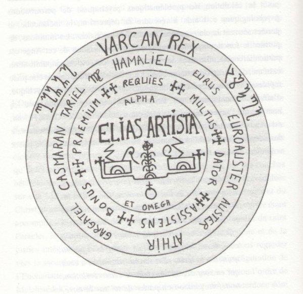 Quelques notes sur un sceau Elias Artista