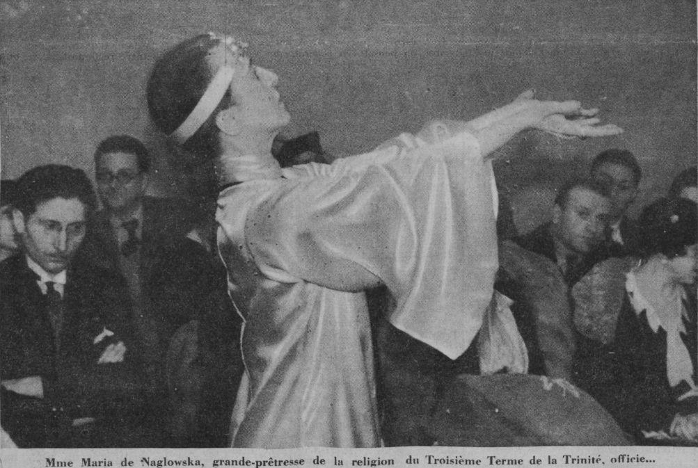 Maria de Naglowska, la Sophiale