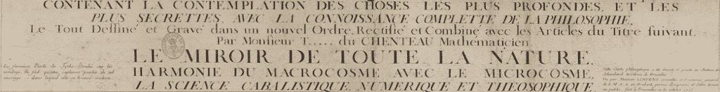 Calendarium du chenteau