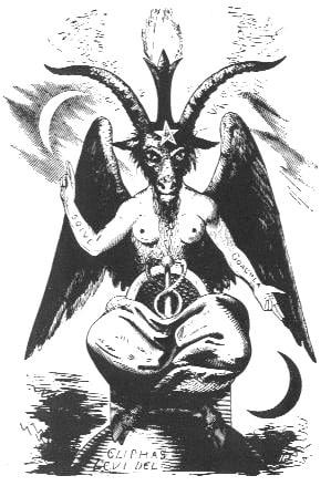 Alchimie et Templiers - Baphomet de Lévi