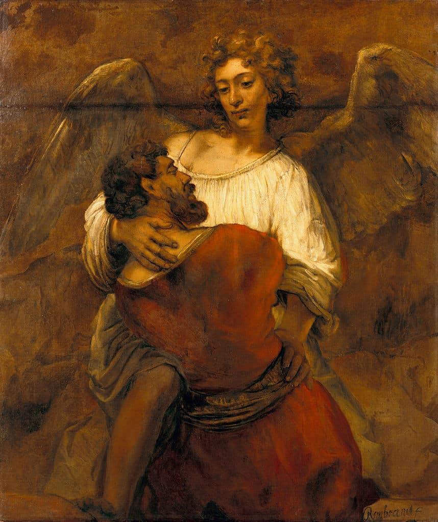 Le Combat de Jacob et de l'Ange