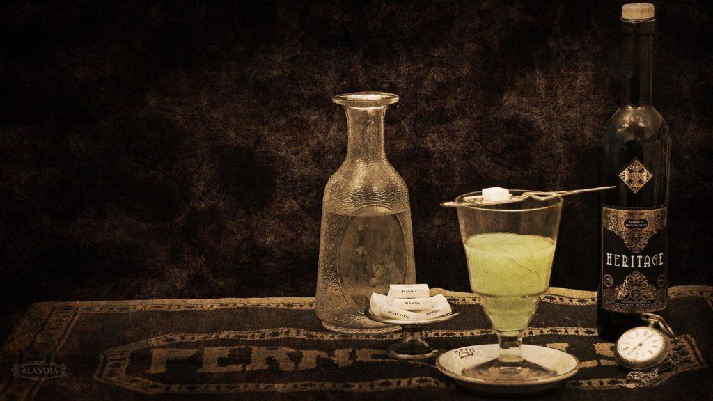Un message dans une bouteille : l'Absinthe