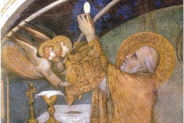 Le Pain et le Vin dans la Messe : origines